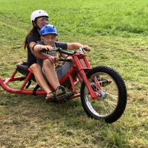 Jezdit můžete i s dítětem